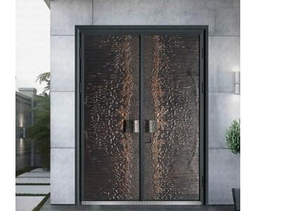 别墅铸铝防爆进户门