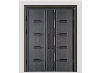 别墅铸铝进户门