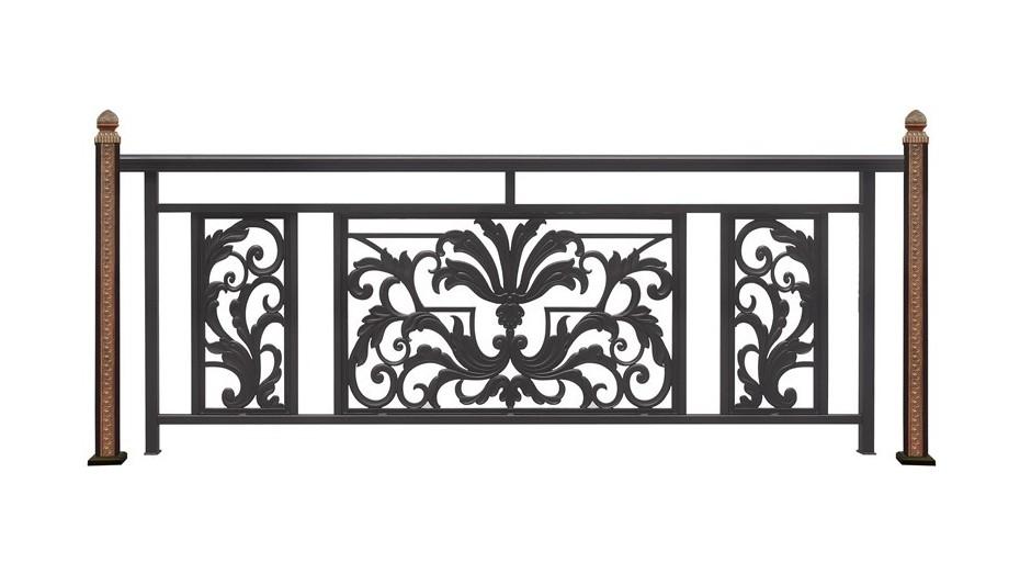 铝艺阳台护栏-015