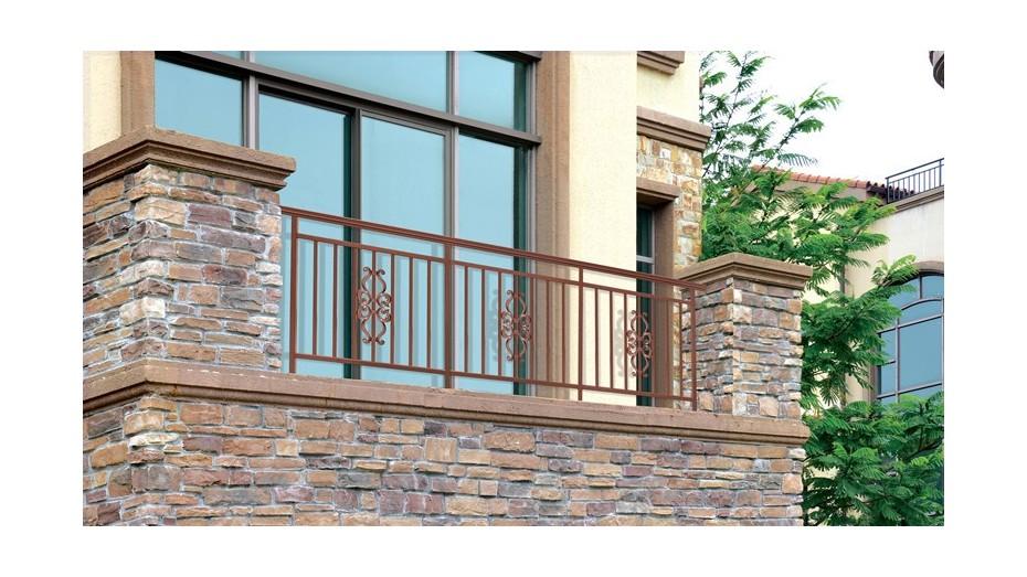 铝艺阳台护栏-012