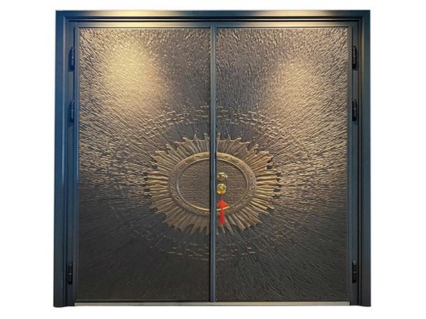 别墅防爆铸铝进户门