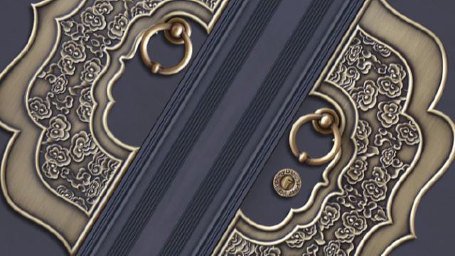 传统韵味 | 中式铝艺大门