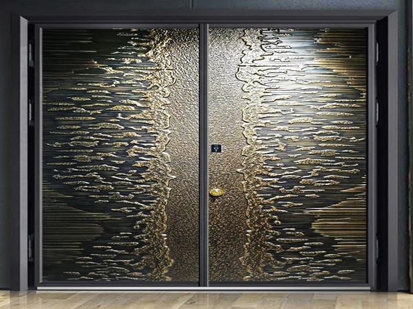 别墅铸铝入户门