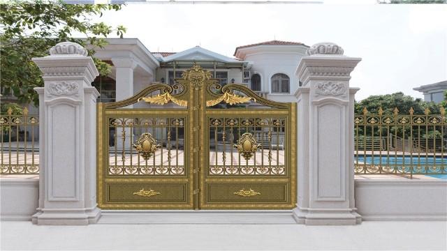 别墅业主如何区别铝艺围墙别墅大门的档次?