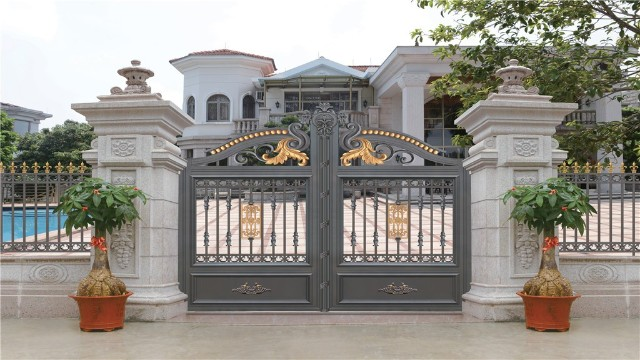 别墅铝艺围墙大门的设计风格,你知道哪些?