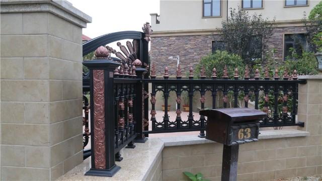 铝艺护栏安装时需要注意的事项