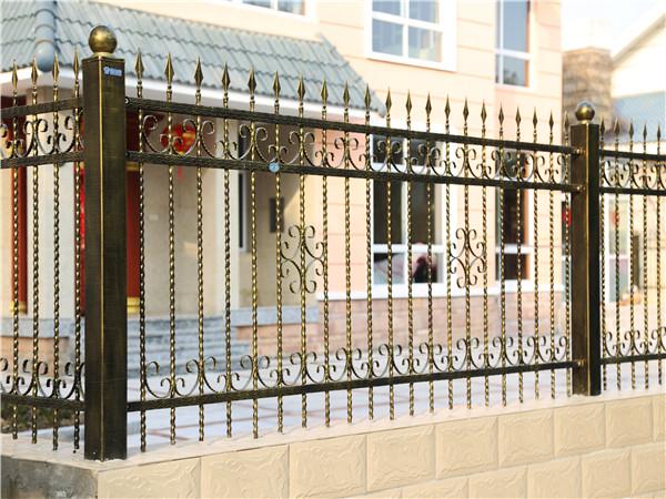 别墅围墙铁护栏