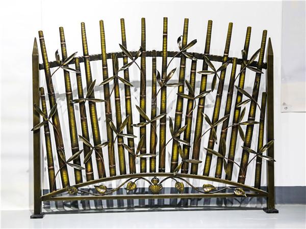 别墅铁艺护栏竹子护栏