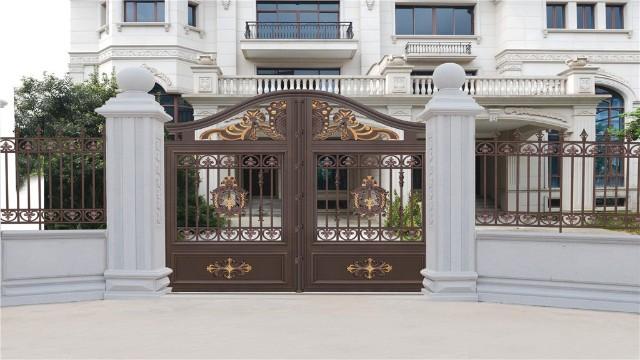 庭院铝艺围墙大门有什么特点?