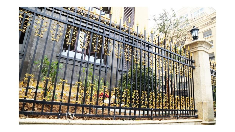 锌钢围墙护栏-001