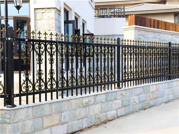 别墅锌钢围墙护栏