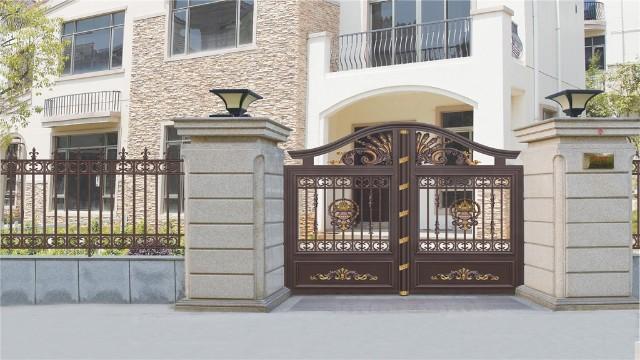 别墅庭院大门的设计要点
