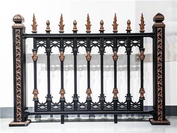 别墅庭院铝艺护栏