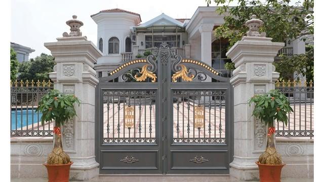铝艺别墅围墙大门在选择是应该注意什么?