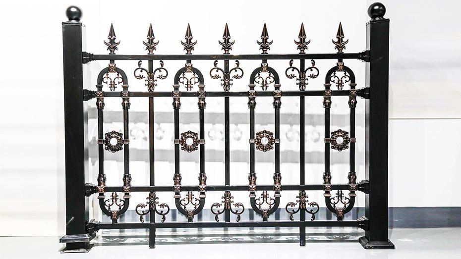 铝艺围墙护栏-001