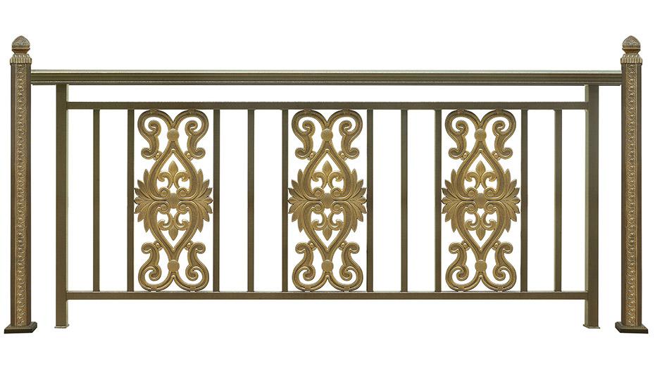 铝艺阳台栏杆-001