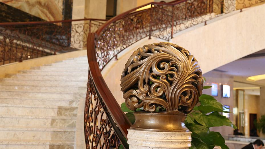 铁艺楼梯扶手-001