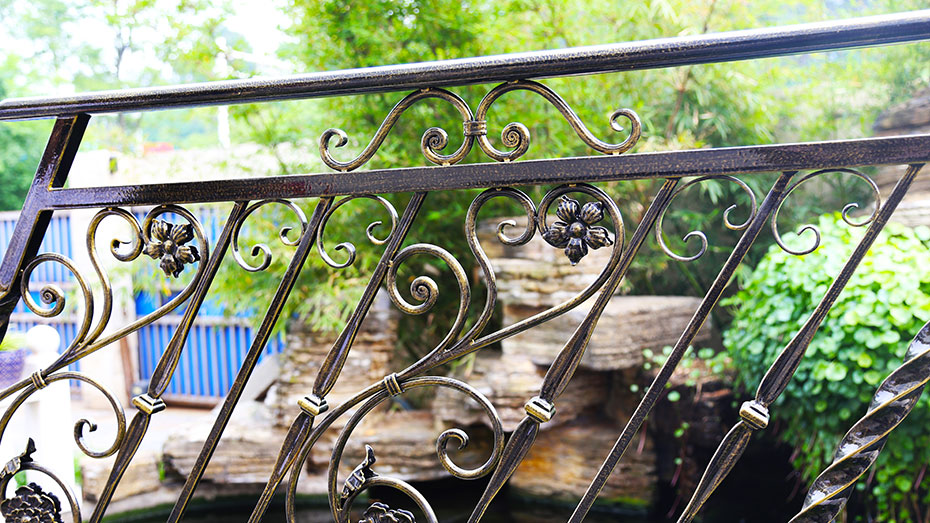 铁艺楼梯扶手-003