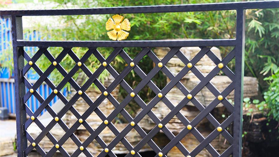 铁艺阳台栏杆-001