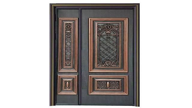 为什么现在有钱人都选用高端别墅铸铝防爆门和别墅铜门?