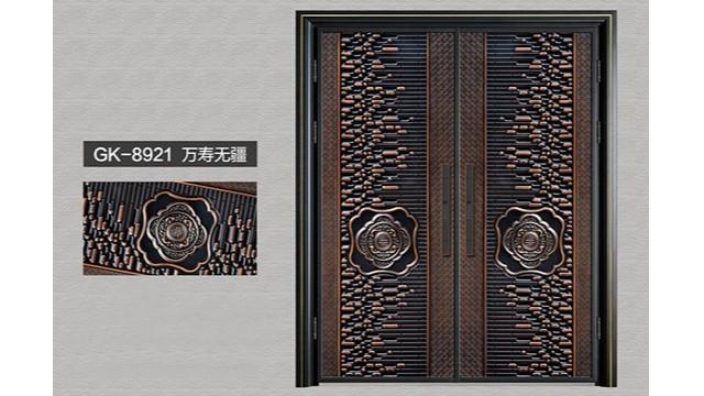 别墅铸铝进户门与铁艺别墅大门的区别