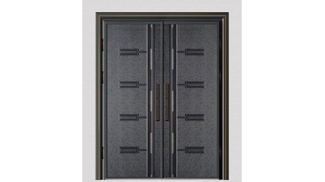 双面铸铝防爆别墅进户门的材质是怎样的?