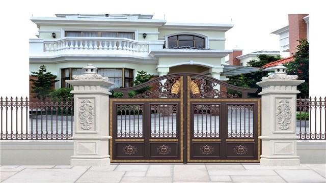 铝艺庭院别墅大门应该怎样挑选呢?