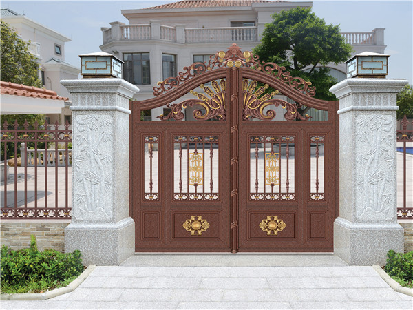 铝艺庭院别墅大门