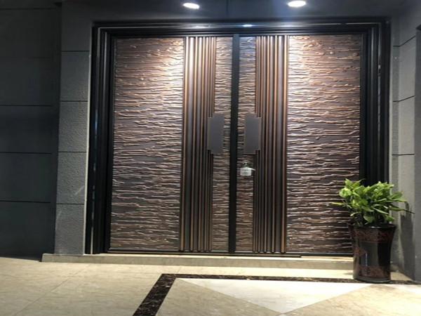 防爆铸铝别墅进户门