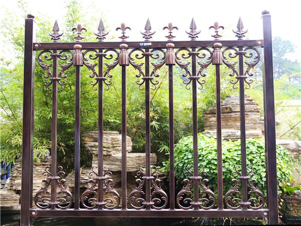 锌钢围墙防护栏杆