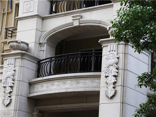 锌钢小区住宅阳台栏杆