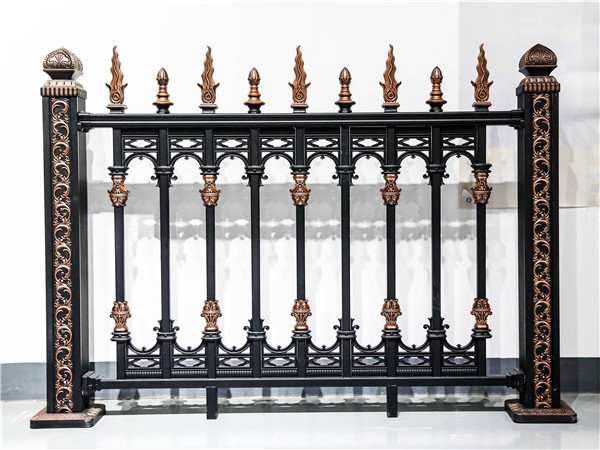 别墅铝艺围墙护栏
