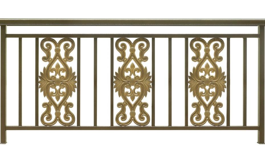 固格澜栅铝艺阳台栏杆 庭院别墅铝艺栏杆批发 铝艺阳台栏杆生产厂家