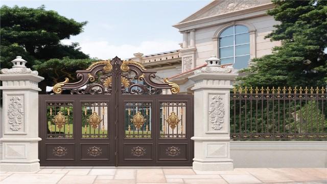 铝艺围墙庭院大门在日常使用中需要注意哪些小细节?