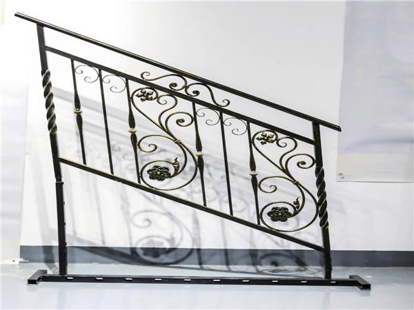楼梯铁扶手栏杆