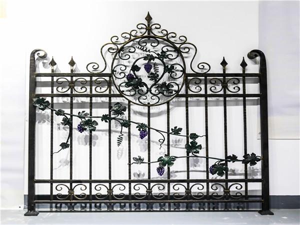 铁艺围墙护栏-008