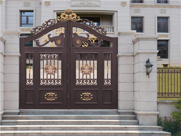 铝艺围墙别墅大门
